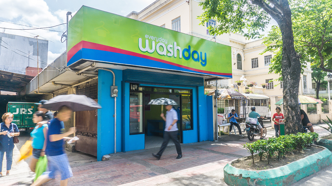 Everyday washday laundry service coin laundry shop in cebu city solutioingenieria Gallery